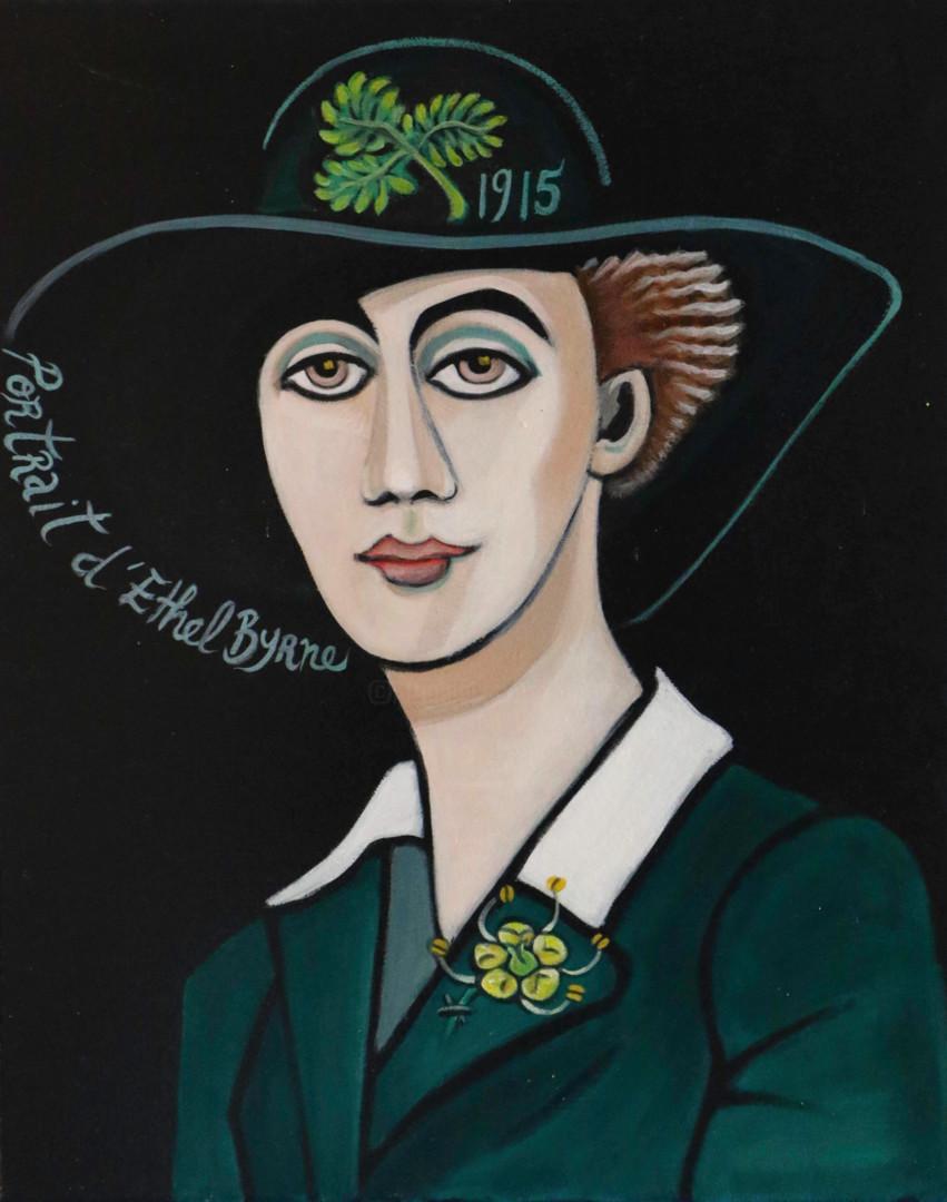 Karotte - portrait d' Ethel Byrne