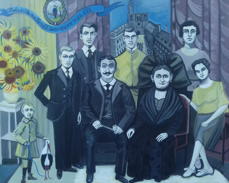 Karotte - Ma famille Dossmann vers 1920