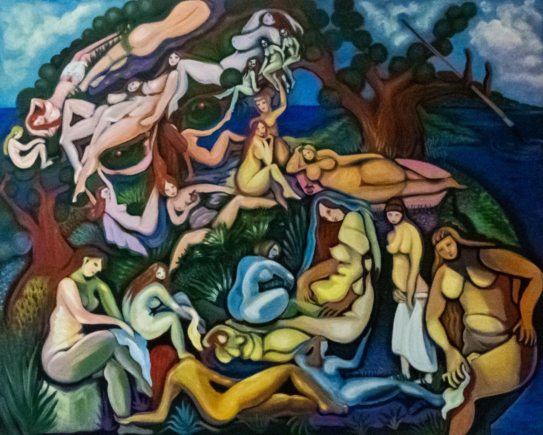 karotte - Renoir, le nudiste et les blanchisseuses