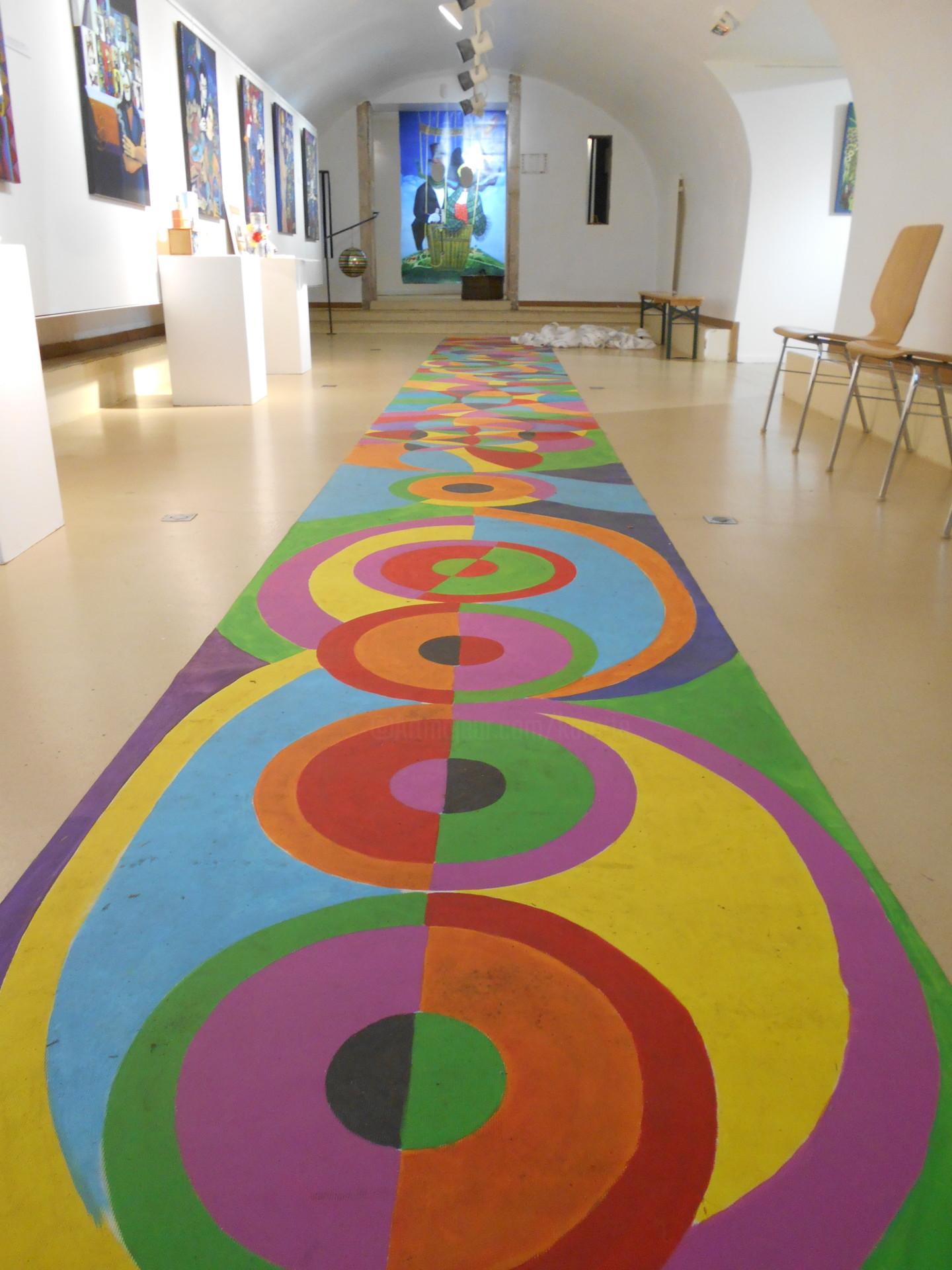 Karotte - Tapis volant rythmes et couleurs