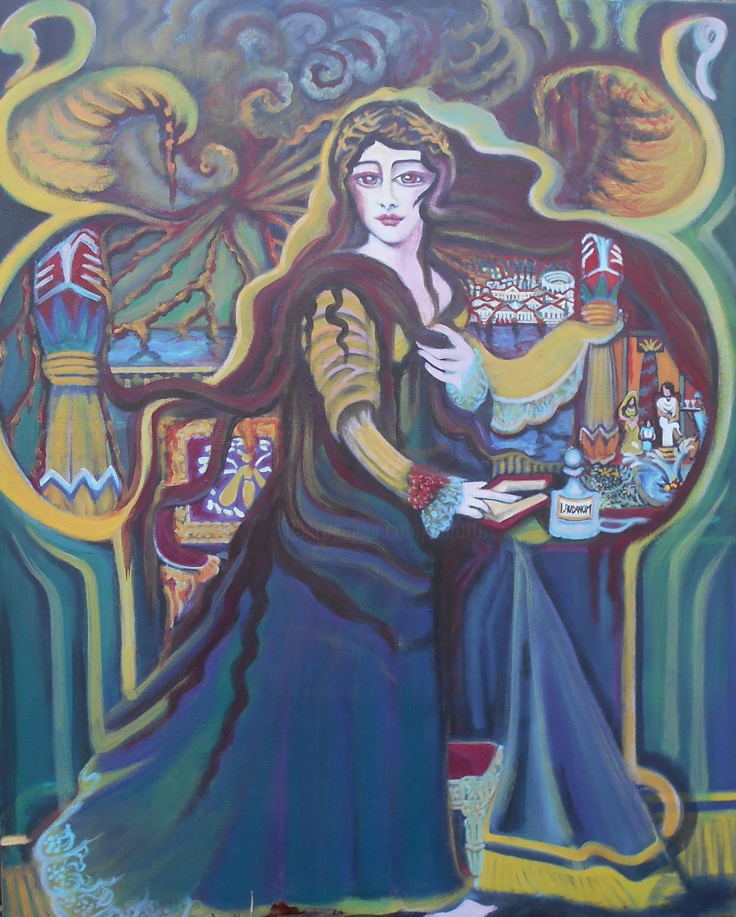 Karotte - Déesse du feu , Grande Gardienne de l'Art Renouvelé