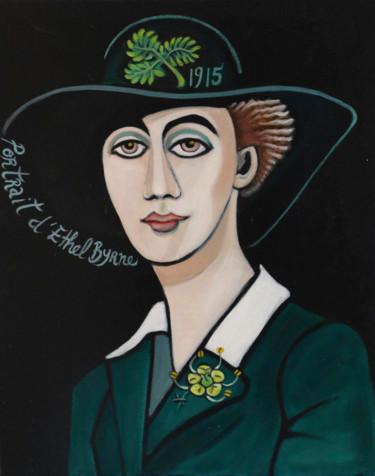 portrait d' Ethel Byrne