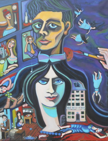 Jeanne et Amadéo: la mariée était en noir