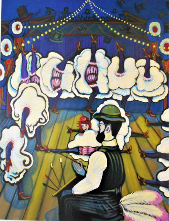 karotte - Toulouse-Lautrec et la Goulue, les vieux complices