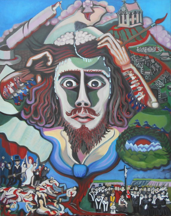 karotte - Gustave Courbet où la Libido guidant le peuple